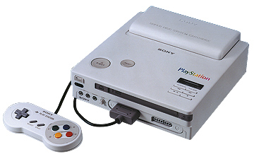 Prototipo de PlayStation, SNES con CD-ROM