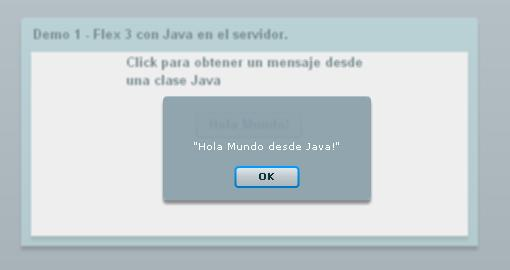 HolaMundo Flex/Java