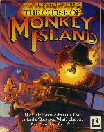 curse of monkey island box cover