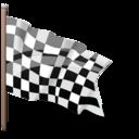 Bandera de llegada